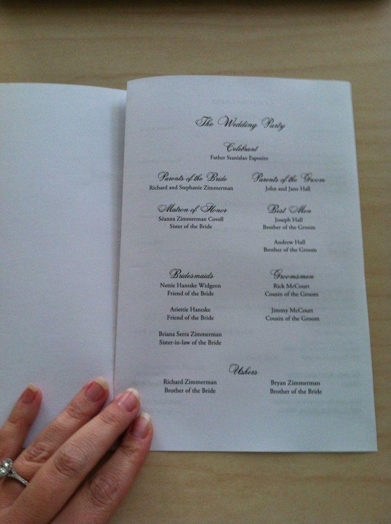 Free Catholic Wedding Program Template Catholic mass, Catholic - wedding brochure template