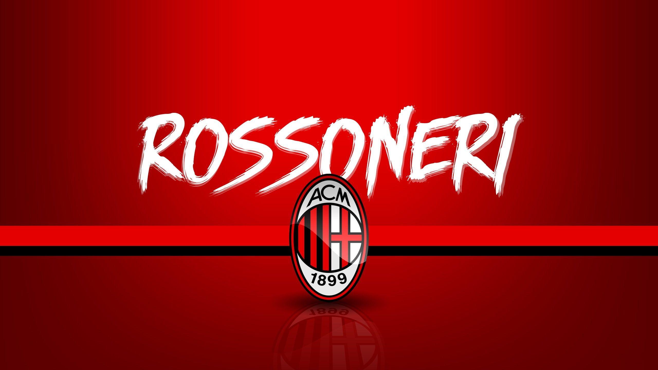 Wallpaper Sport Logo Football Serie A AC Milan Rossoneri