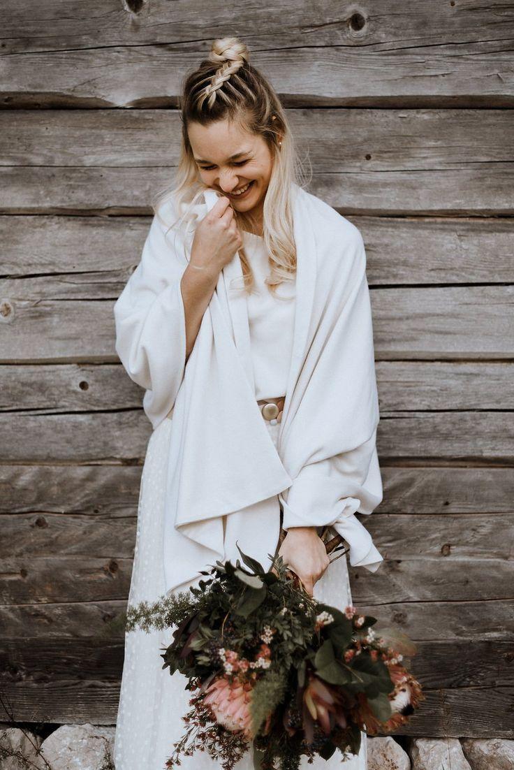 Brautstola in Ivory für die Hochzeit in 2020 | Braut stola