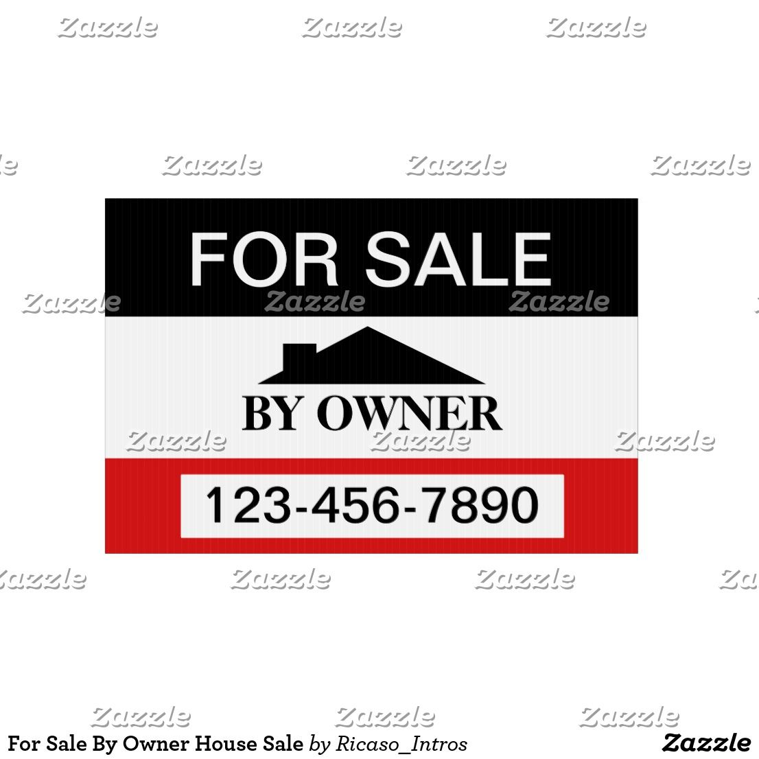 For Sale By Owner House Sale Lawn Sign For Sale Sign