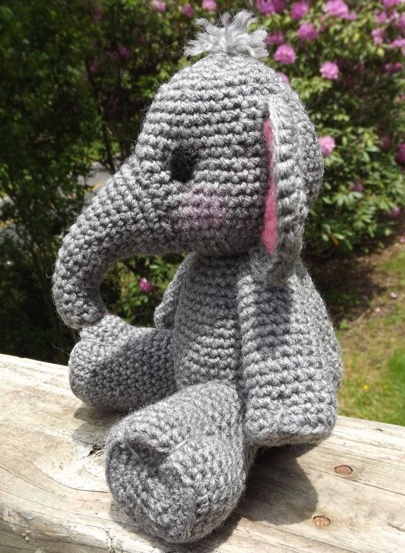 Baby Elephant Amigurumi Crochet Pattern PDF Doll not included ...