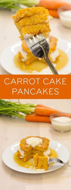 What's your favorite part about carrot cake? The sweet and spicy cake or the rich frosting? Enjoy the best of both – for breakfast! Get the recipe for our Carrot Cake Pancakes with creamy, dairy-free Yogurt Frosting.