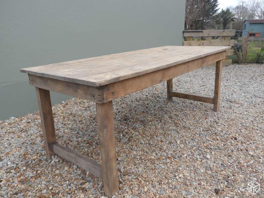 Table De Ferme Ameublement Loire Atlantique Leboncoin Fr Table De Ferme Ameublement Mobilier De Salon