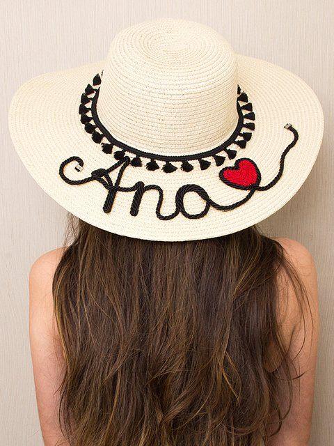 Chapéu de Praia Summer Feeling - 21663   Moda   Pinterest c6a231dbe7