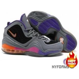 cheap for discount f841b cab58 Nike Air Penny 5 Phoenix Suns Grey Black Rave Pink Court Purple Sapatos  Jordan Baratos,
