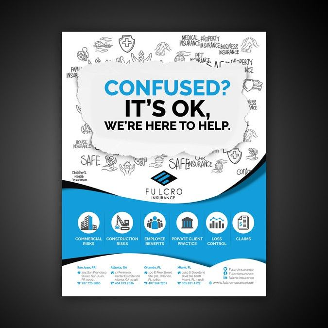 Create A Print Ad For An Insurance Broker By Lucifer Design