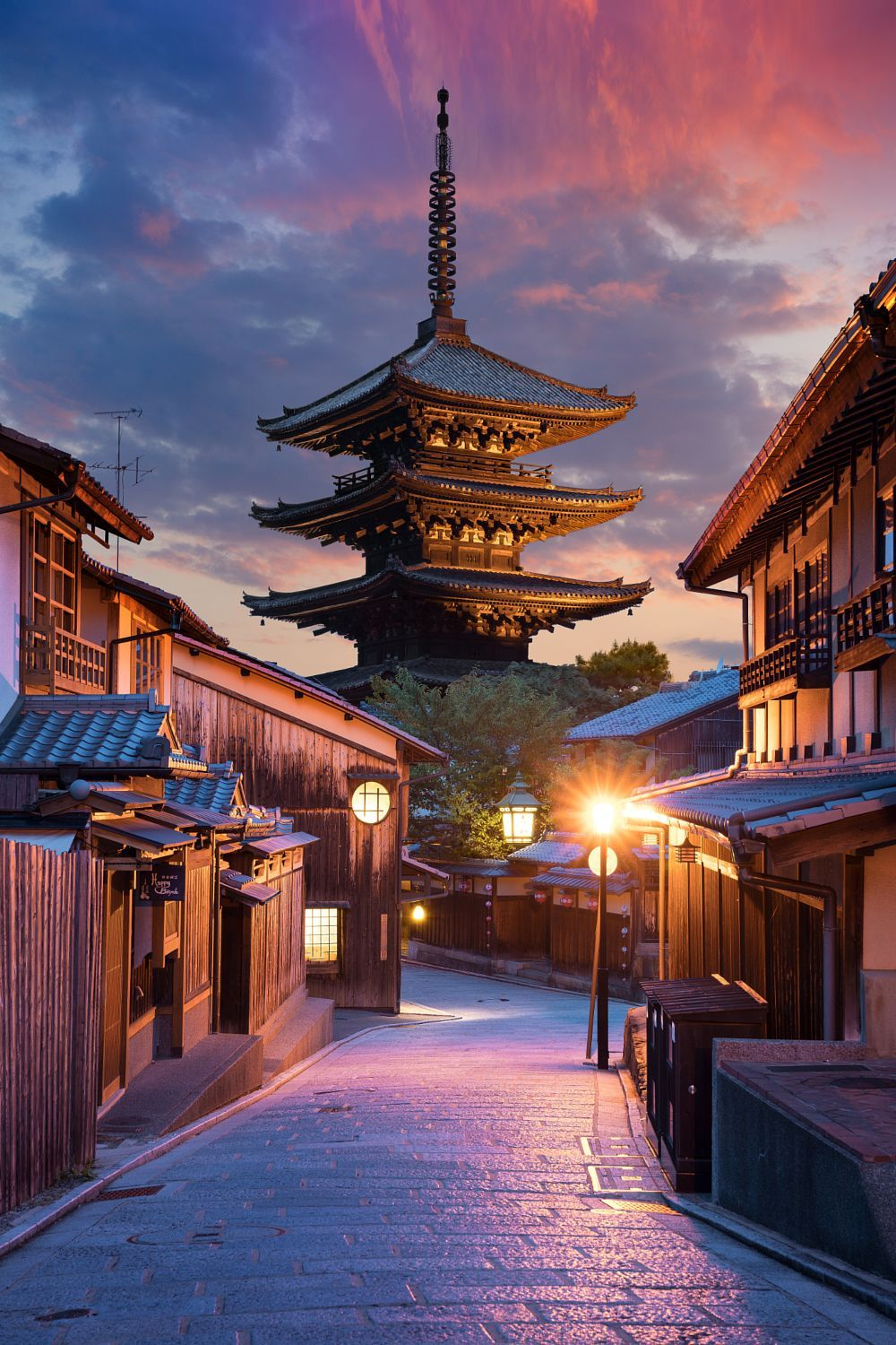 sunset over kyoto by lhan eroglu on 500px im turning. Black Bedroom Furniture Sets. Home Design Ideas