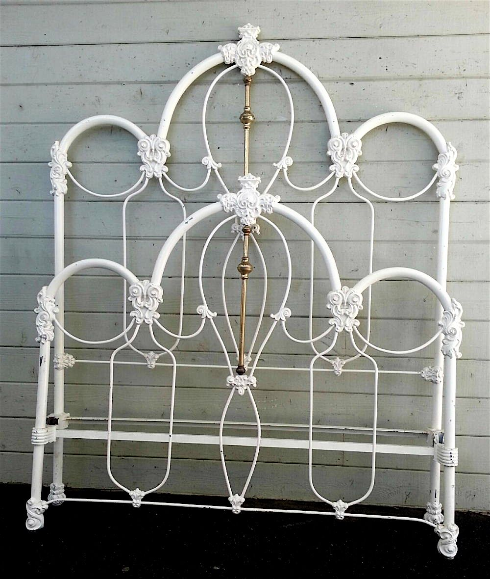 As Classic And Traditional A Victorian Iron Bed As You Ll See