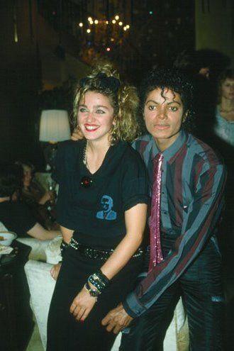 MADONNA AND MICHAEL....