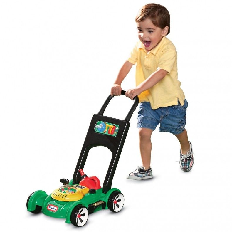 Gas n go mower outdoor toys for toddlers little tikes