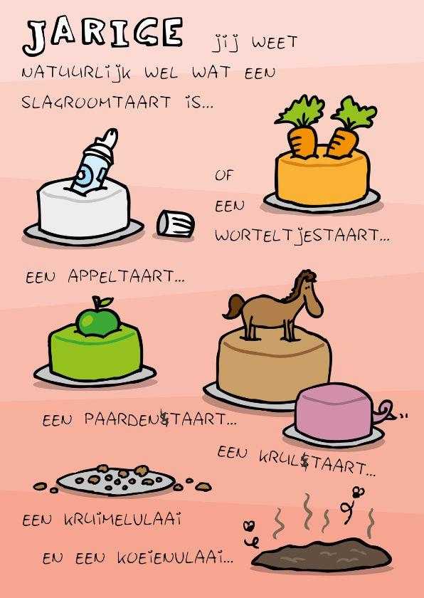 humor taart Verjaardagskaart Ouwe Taart   deBos Design Cards   Pinterest  humor taart