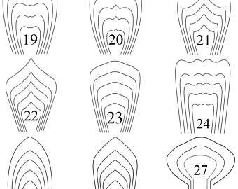 paper flower template printable