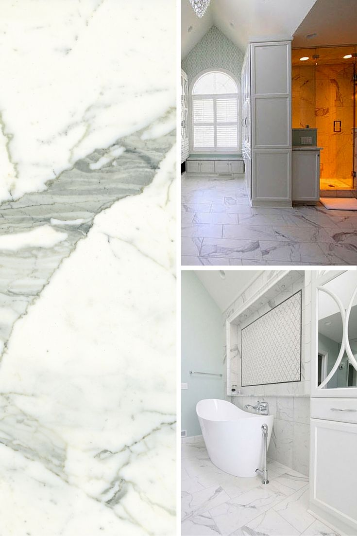 Classic - Statuarietto, the porcelain tile that look like marble ...