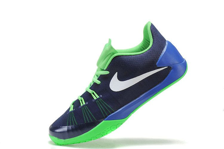 9d216017189d Nike Hyperchase Navy Blue Poison Green White