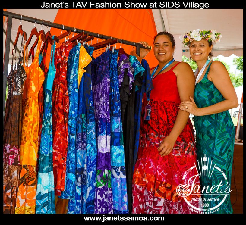 Cook Island Designs: New TAV Dresses Now At Janet's