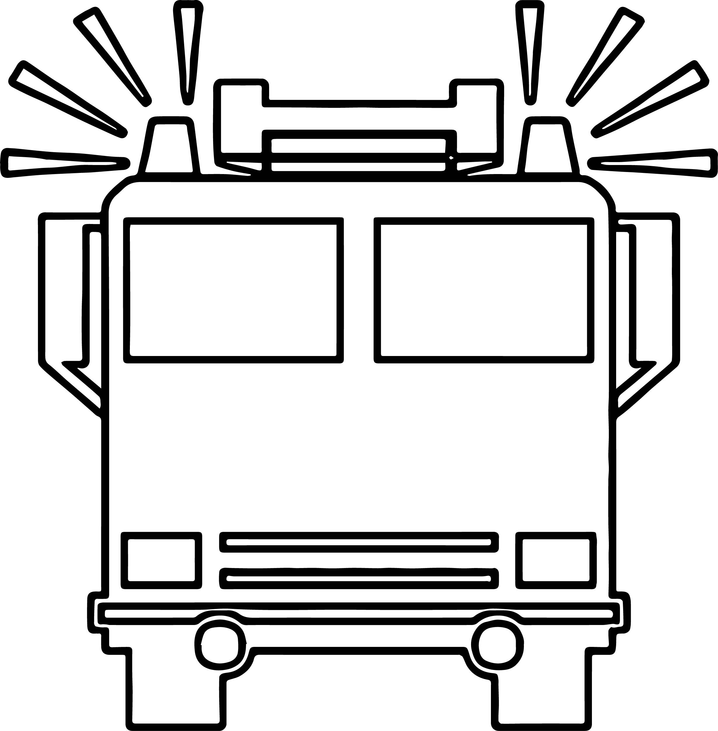Cool Fire Truck Front Box Coloring Page Fire Truck Craft Fire Trucks Firetruck Birthday
