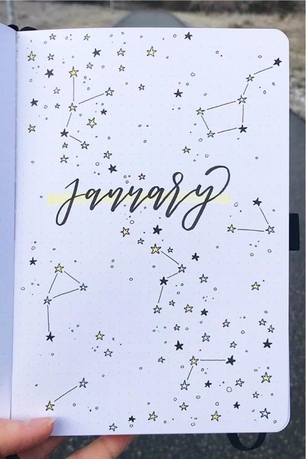 30 Best January Monthly Cover Spread Ideas For 2020 - Crazy Laura