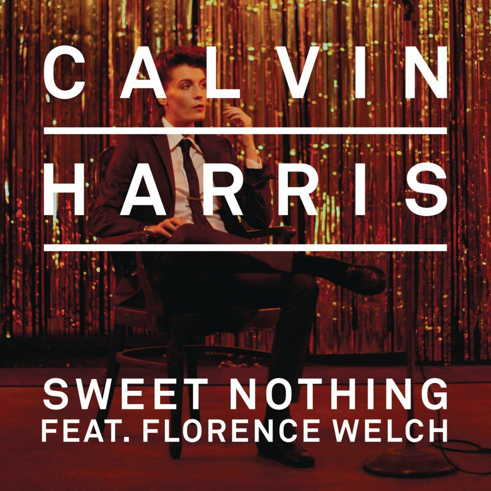 Calvin Harris, Florence Welch – Sweet Nothing (single cover art)