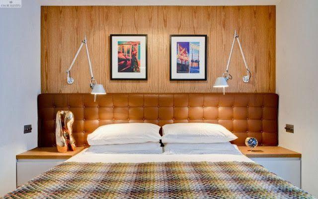 Resultado de imagem para cabeceira de cama com espelhos bisotados