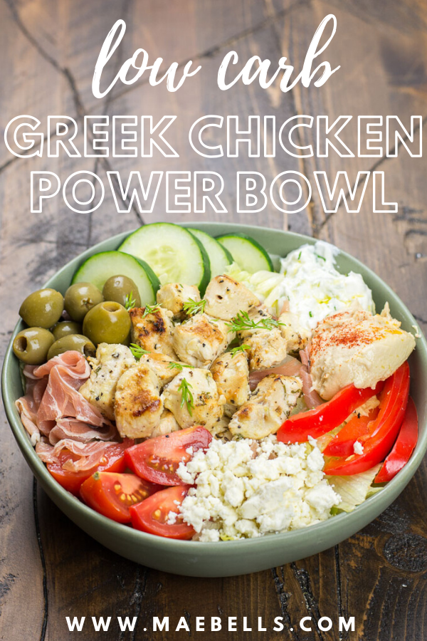 Greek Chicken Power Bowl Cheap Healthy Dinners Healthy Bowls Recipes Cheap Healthy Meals