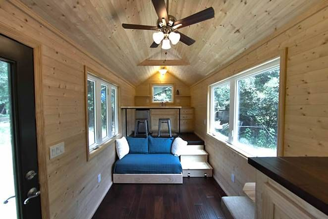 Loft-Less 160 Sq. Ft. Tiny House For People Who Hate Climbing