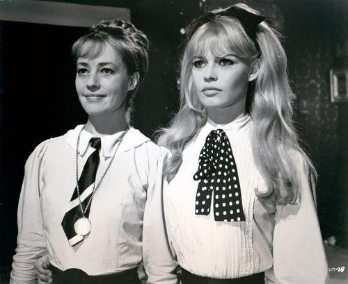 Jeanne Moreau - Brigitte Bardot