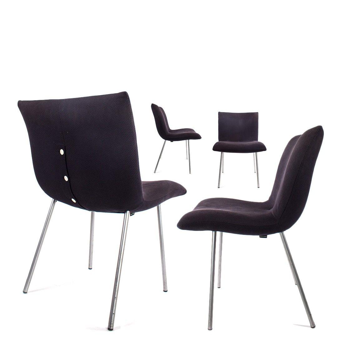 Ligne Roset Eetkamerstoel Calin.Set Of Four Ligne Roset Calin Dining Chairs By Pascal