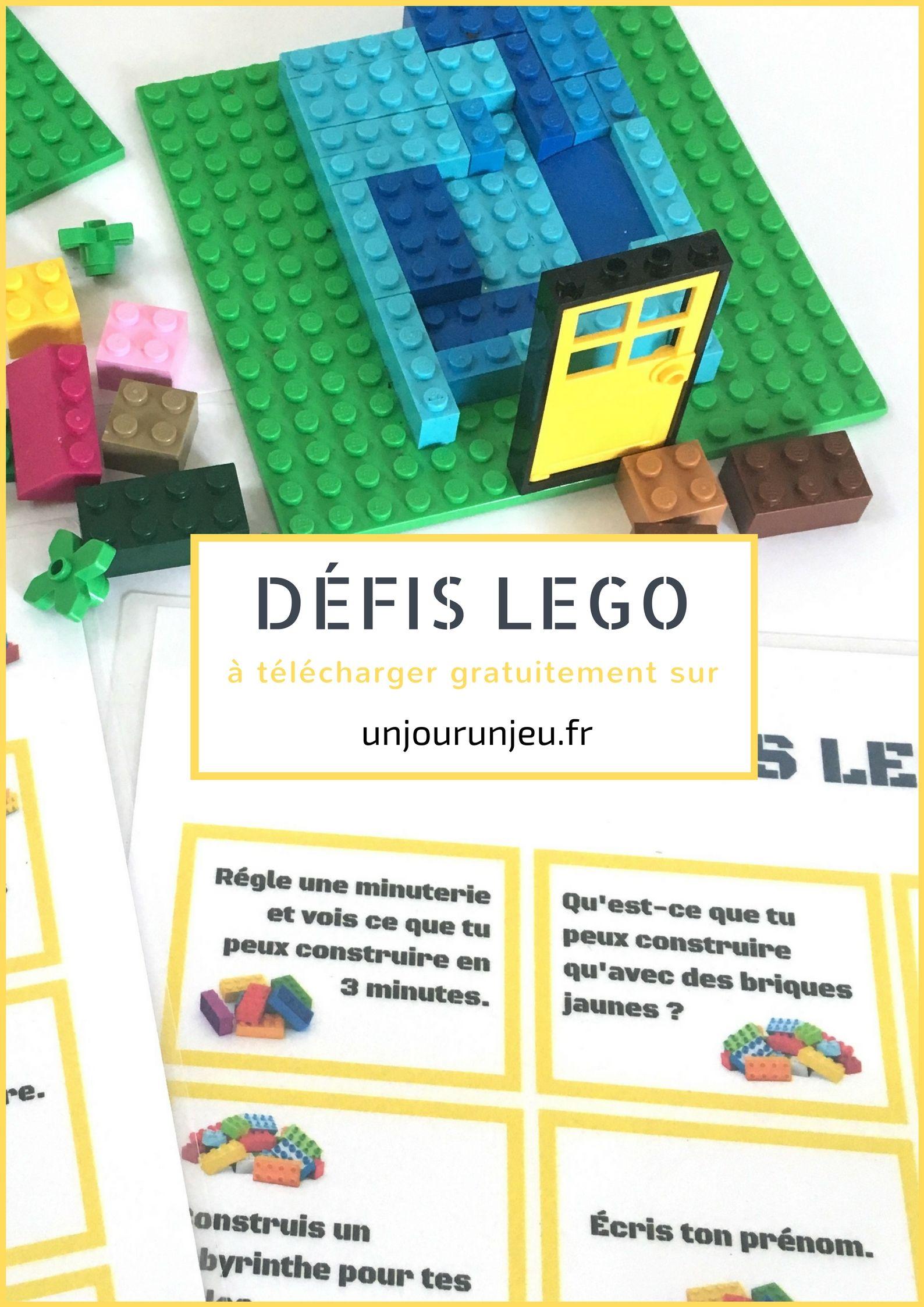 Defis Lego A Imprimer 30 Idees A Realiser Seul Ou A Plusieurs