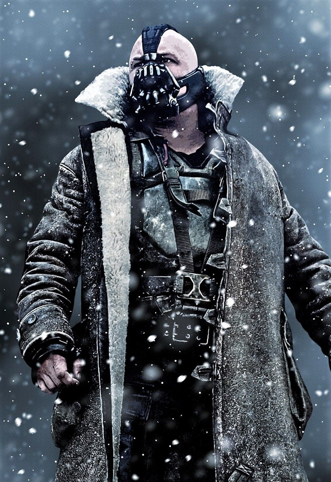 Tom Hardy As Bane Tom Hardy Bane Gotham Villains Bane