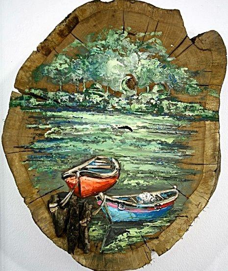 Kutuk Boyama Billet Painting Soyut Sanat Tablolari