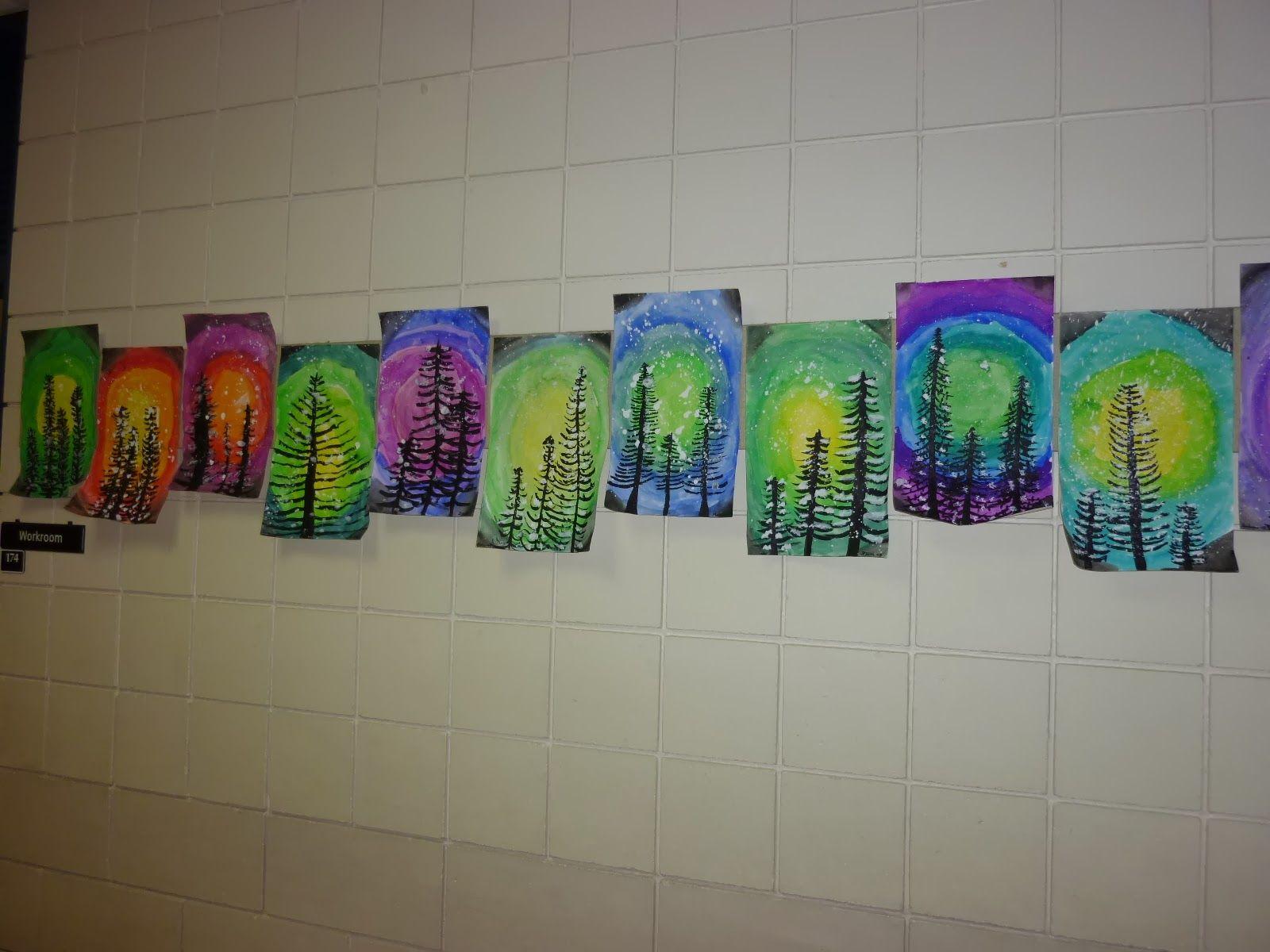 1st grade winter art Google Search teaching art