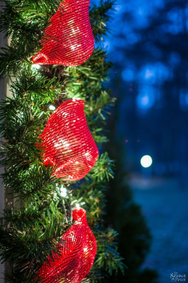Diy outdoor christmas decorations  Faux Christmas Tree Repurposed Three Ways  DiY outdoor Christmas