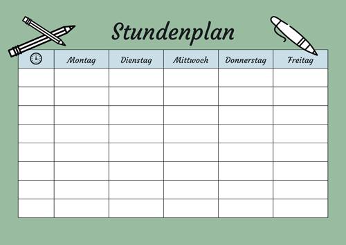 Diese Stundenplan Vorlage Im Pdf Format Und Weitere Kostenlose Bastelvorlagen Zum Ausdrucken Findet Ihr Stundenplan Vorlage Stundenplan Ausdrucken Stundenplan