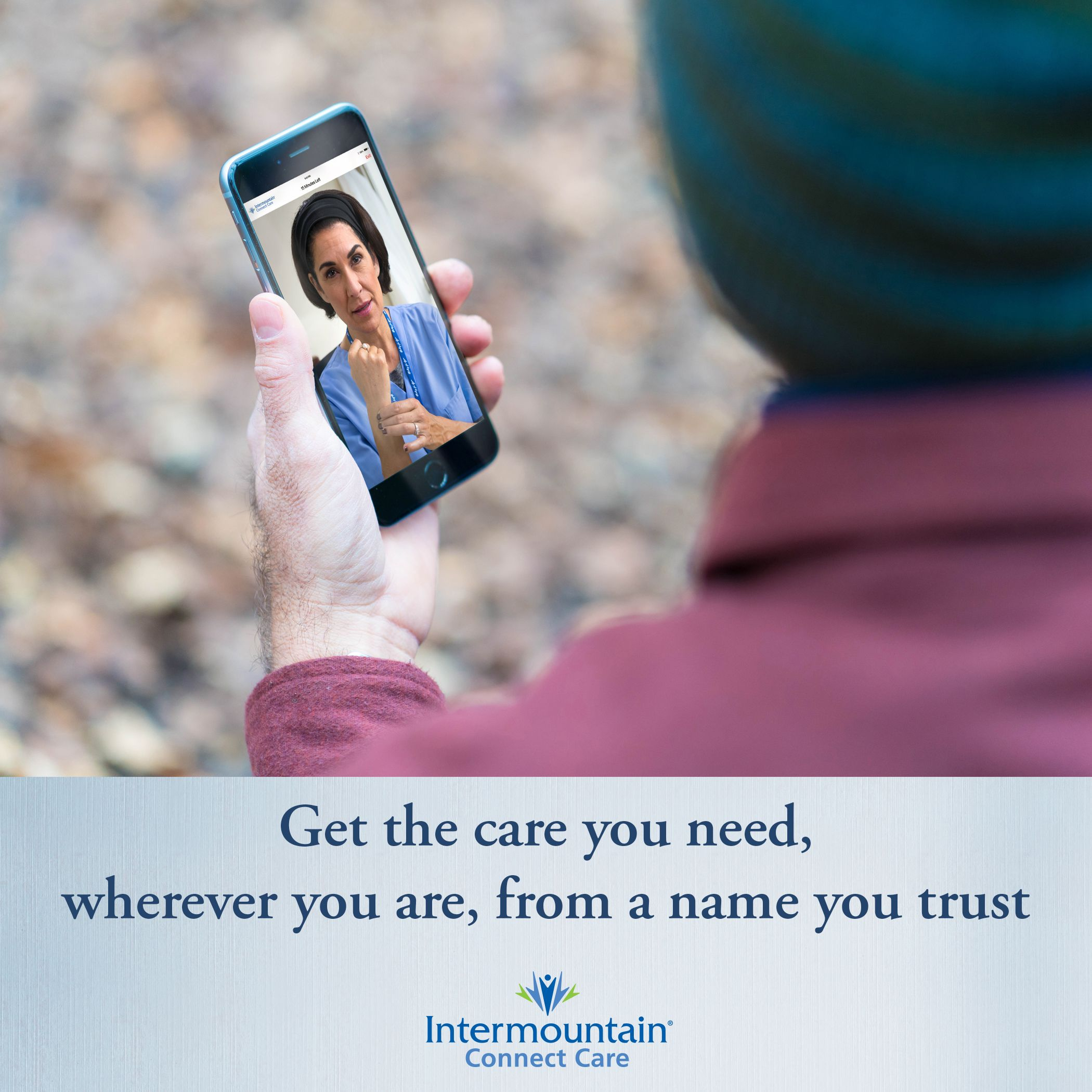 Connect care makes it easy to talk to an intermountain