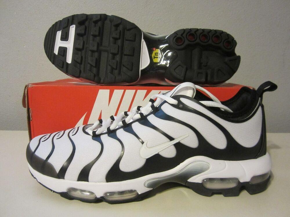 various colors c21d3 5a429 898015 101) DS Nike Air Max Plus TN Ultra white/black sz 13 ...
