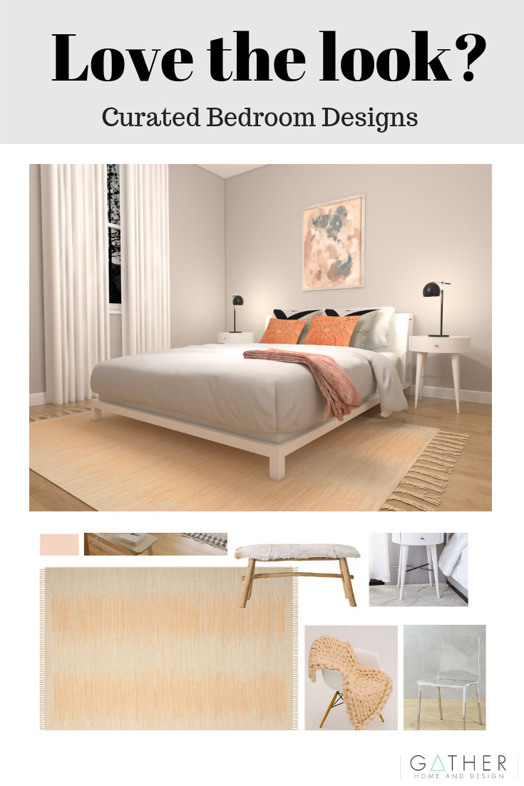 Designing your space just got easier! With our Curated Bedroom ...