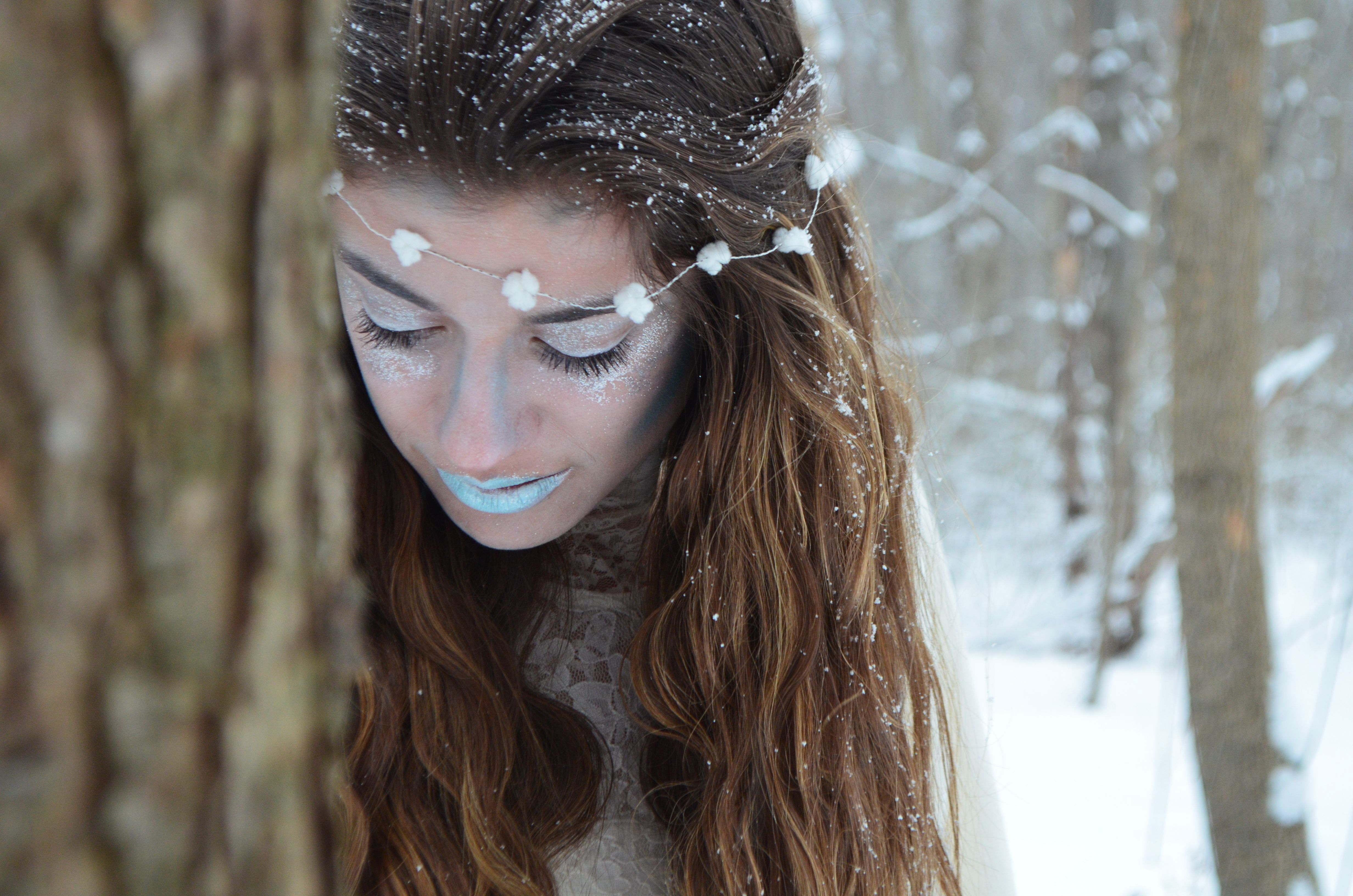 Snow Princess, Ice Queen, Photography, Cold, Frozen