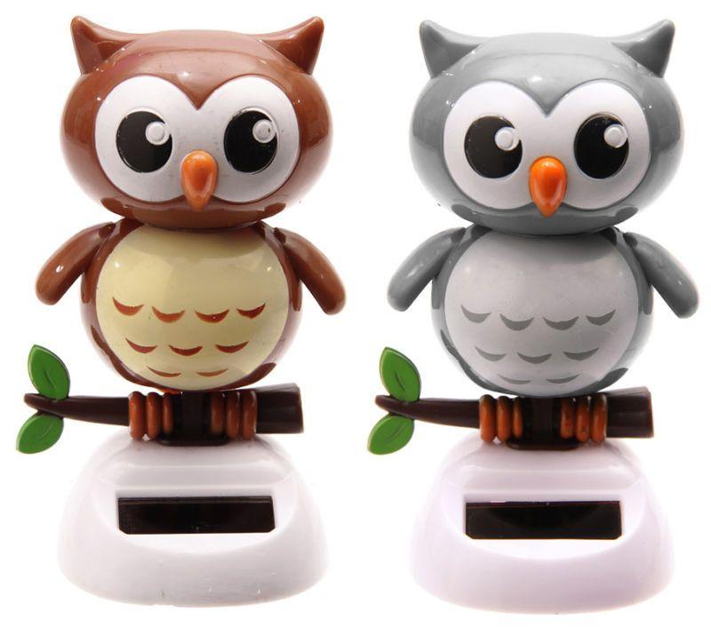 Solar Flip Flap Owls They Move Solar Powered Toys Solar Solar Power