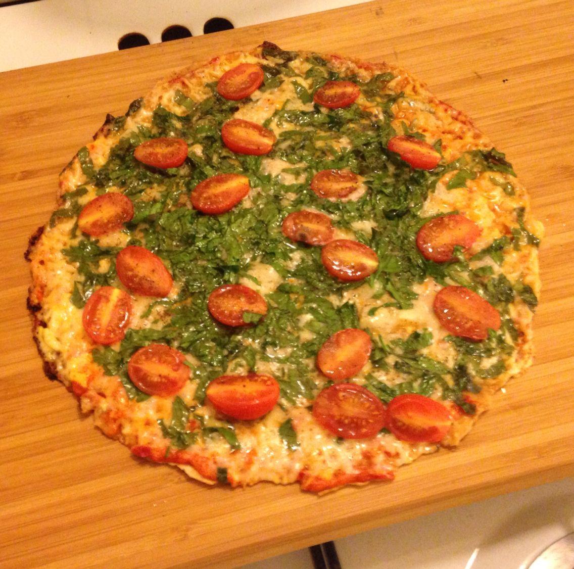 Pizza blomkålsbotten