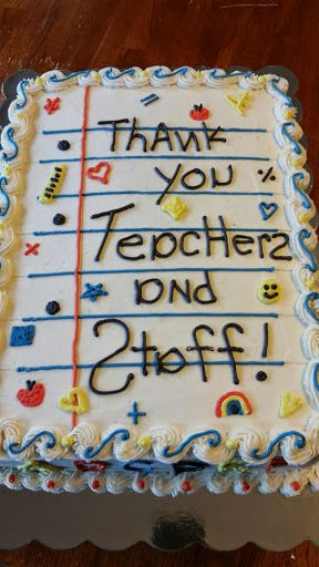 Thank You Teachers And Staff Teacher Appreciation Week Teacher