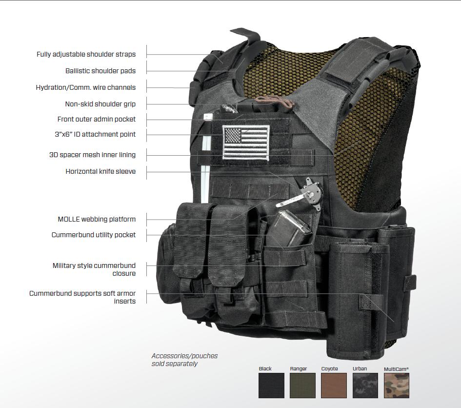 T Armor Express Bulldog Corrections Tactical Vest 945 836 Combat Gear Tactical Vest Armor