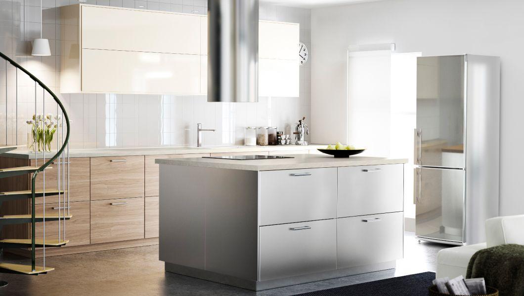 Hej bei ikea Österreich loft kitchen küche küche co kochinsel