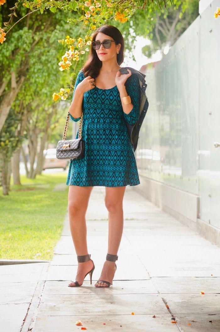 estilozas: Mis looks: Vestido Tribal
