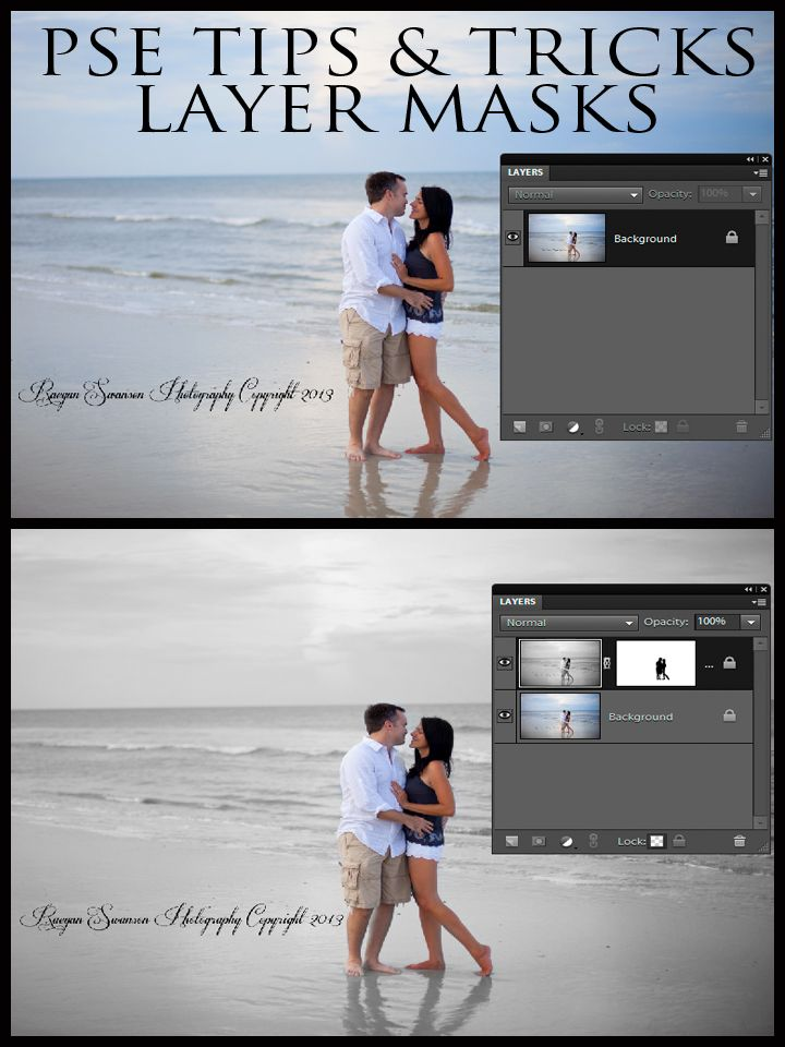Photoshop Elements Tutorial | How to do a Layer Mask.