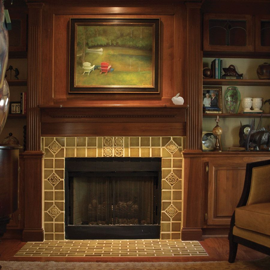 Rookwood Pottery News Cincinnati Ohio Fireplace Tile