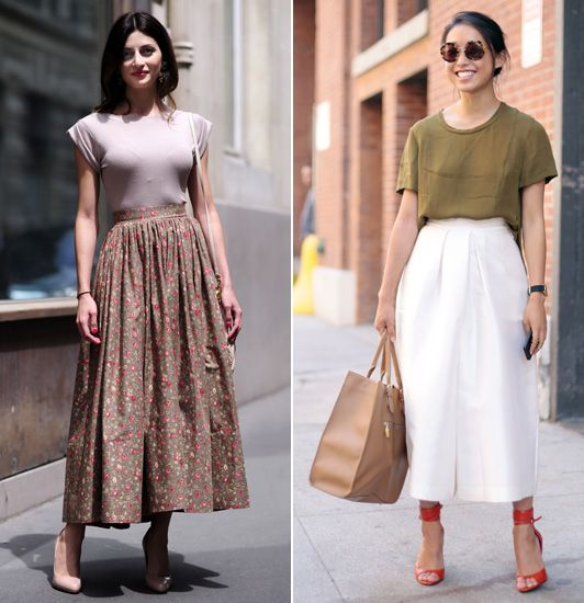 17 Best images about Midi Skirt on Pinterest | Full skirts, Ralph ...