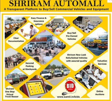 Samil Services Shriram Automall Various Services Commercial Vehicle Service Refurbishing