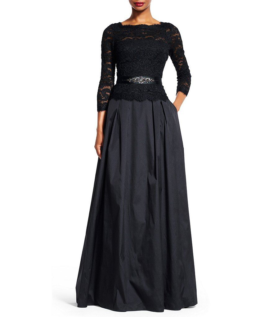 papi camuflaje sol  Shop for Adrianna Papell Lace Bodice Belted Ball Gown at Dillards.com.  Visit Dillards.com to find clothing, accessories, s…   Dresses, Bride groom  dress, Lace dress