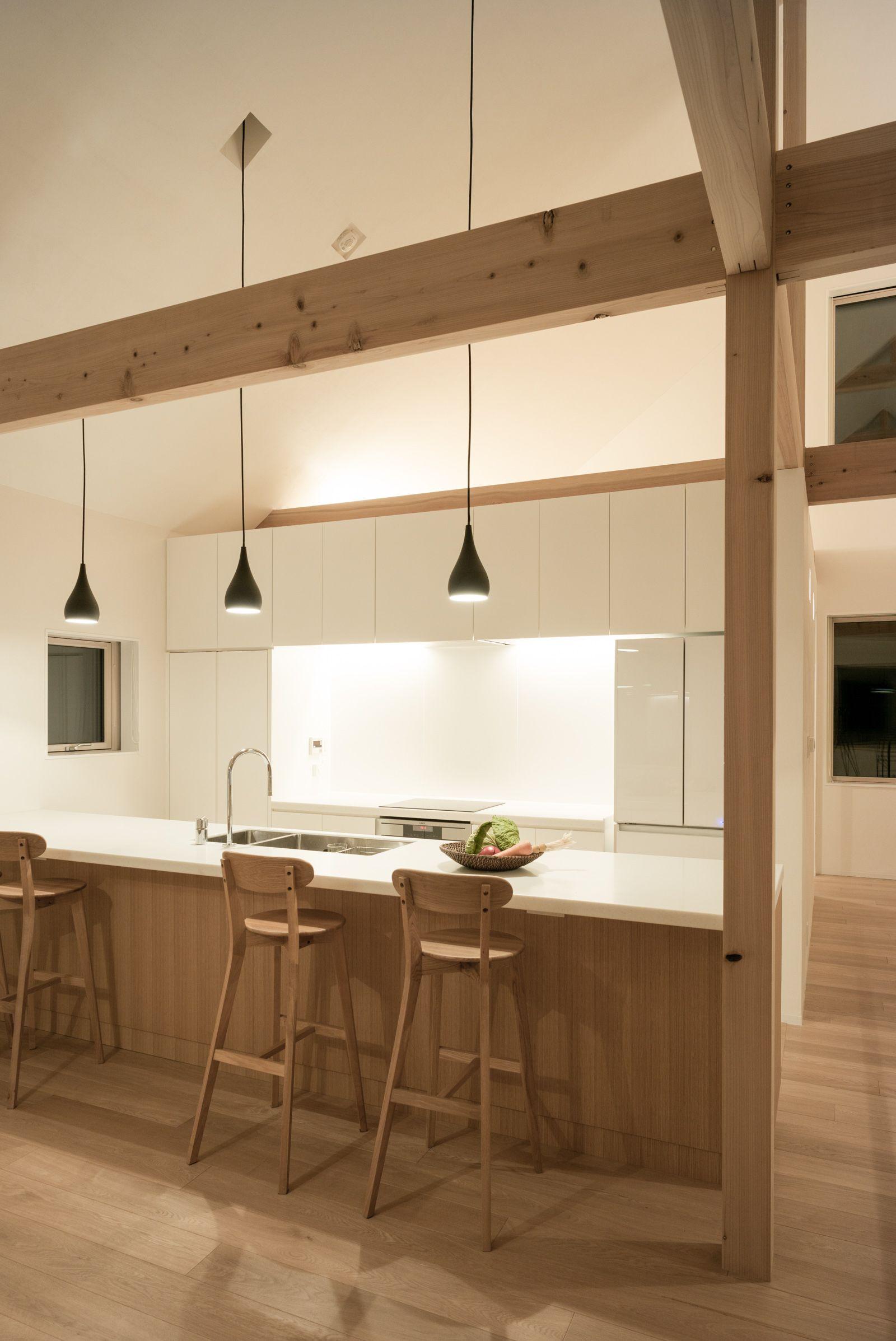 k house in niseko japanese modern house japan interior kitchen interior on kitchen interior japan id=54100