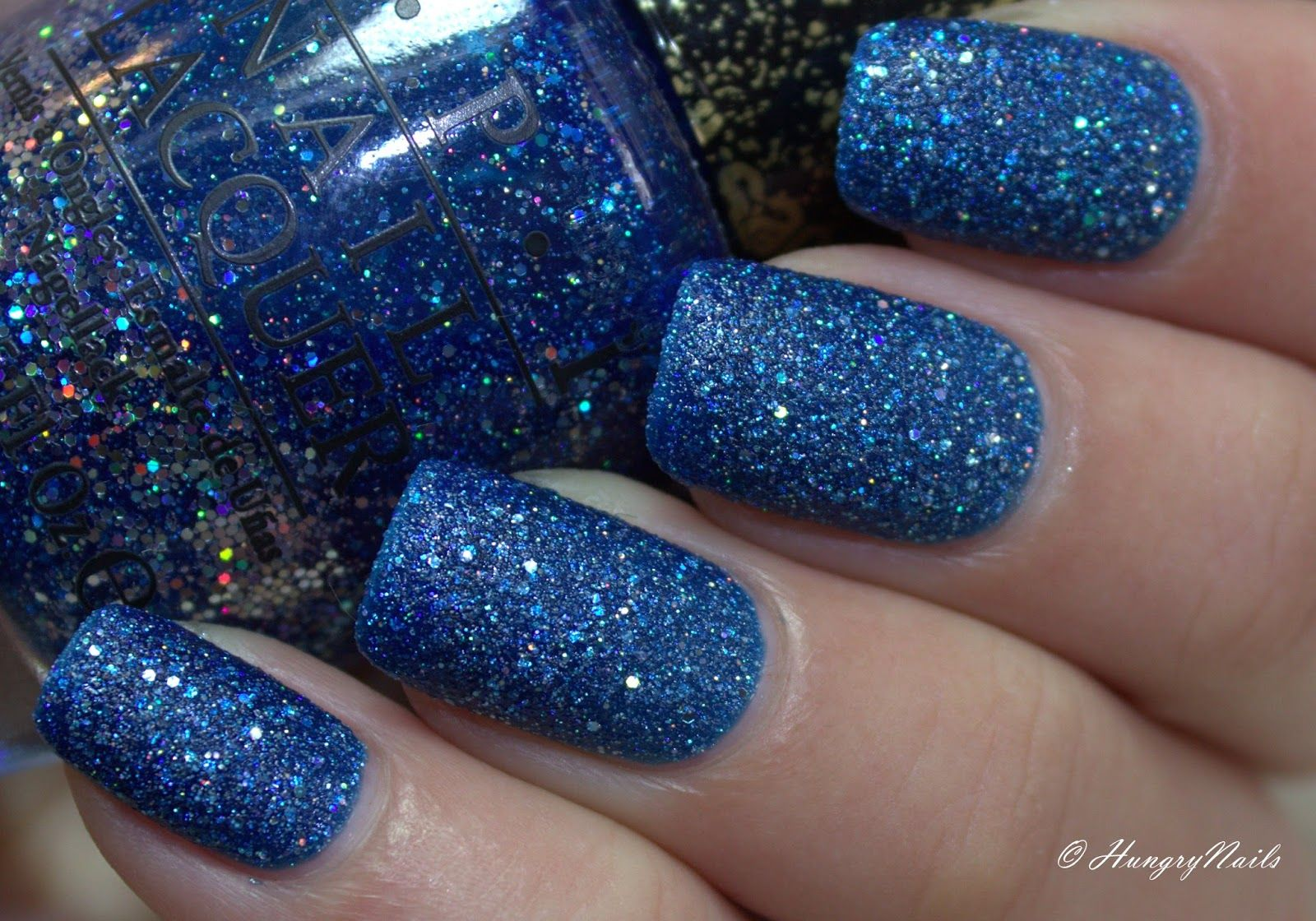 HungryNails: Blue Friday | Happy Birthday mit OPI Get your Number